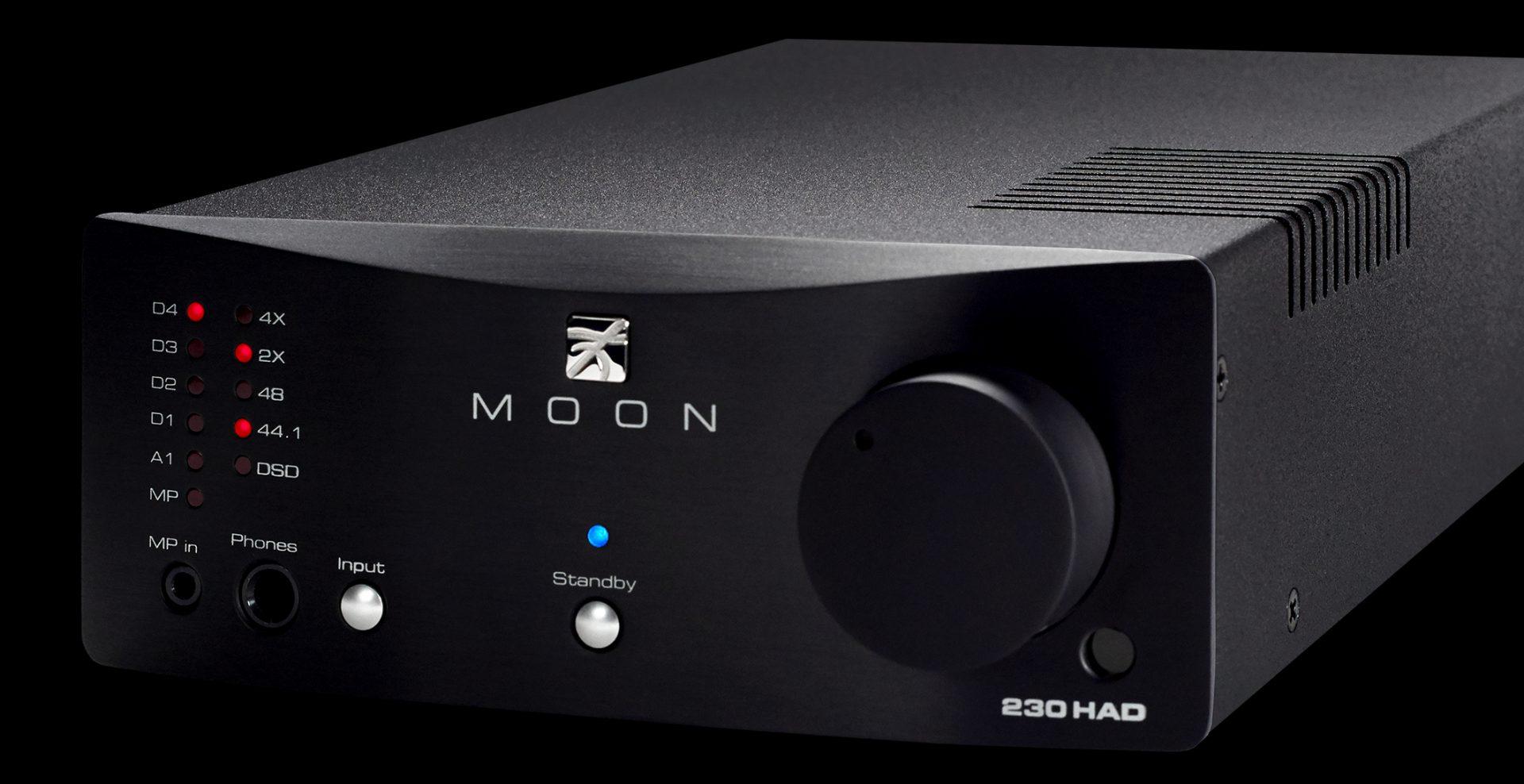230HAD Amplificateur de casque d'écoute et convertisseur N/A - Moon Simaudio