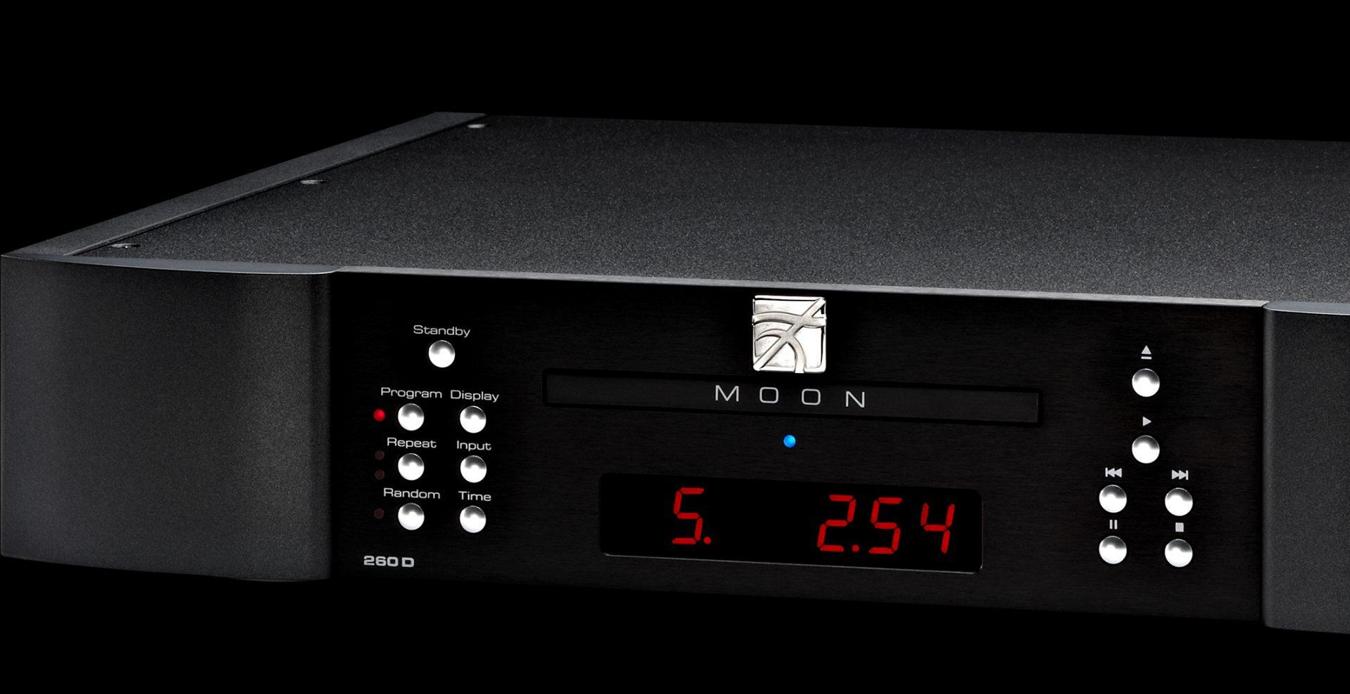 lecteur CD MOON 260D avec convertisseur N/A