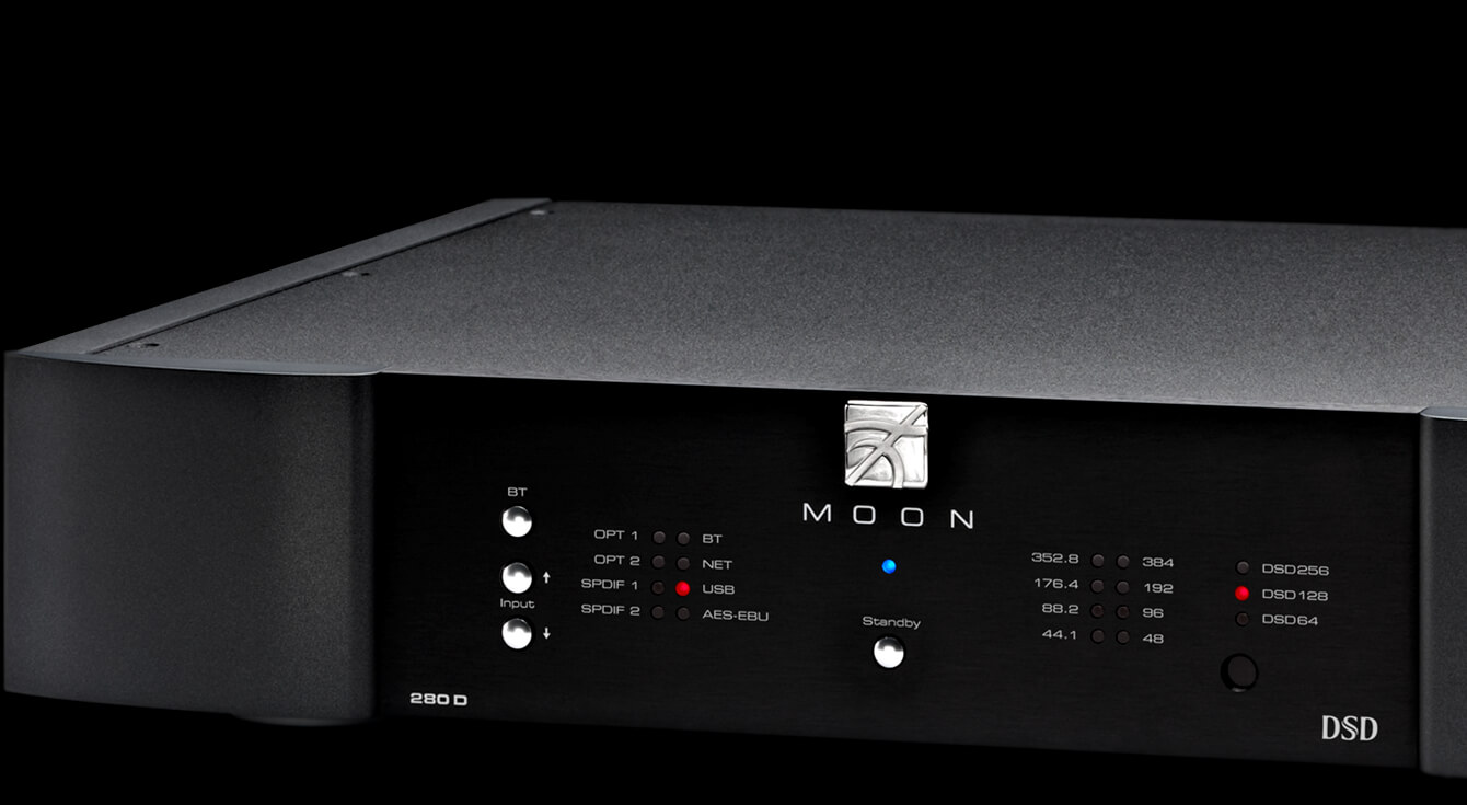 280D Streaming DAC Moon by Simaudio