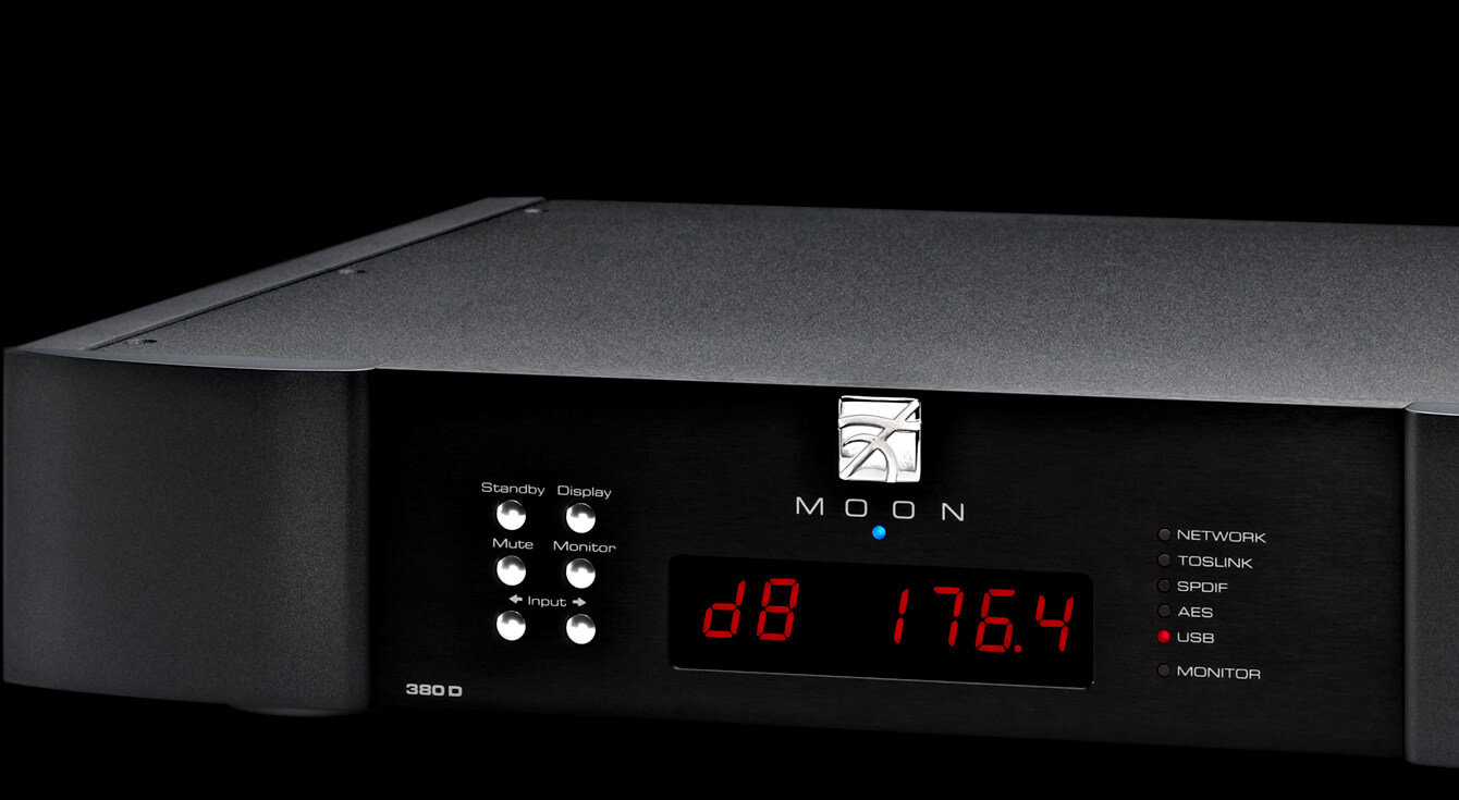380D Streaming DAC - Moon by Simaudio