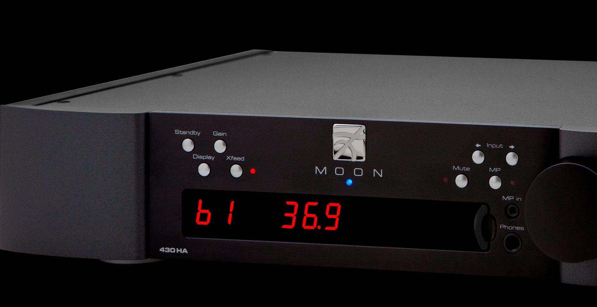 430HA Amplificateur de casque d'écoute - Moon Simaudio