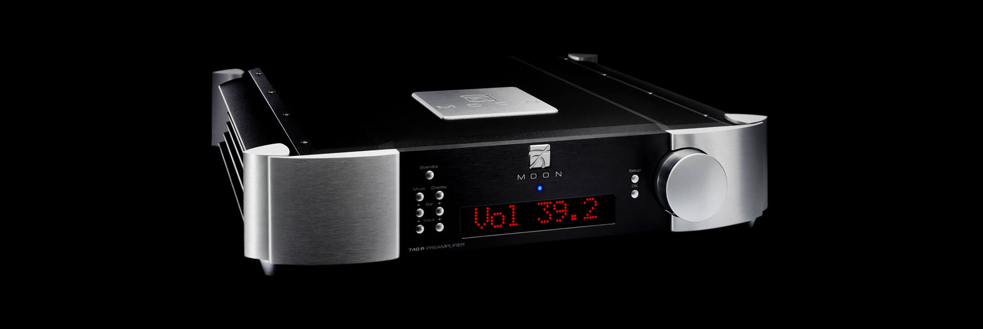 740p Preamp Best Audiophile Audio Preamplifier Moon Simaudio
