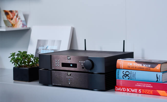 Preamp & network player 390 Simaudio 'Moon