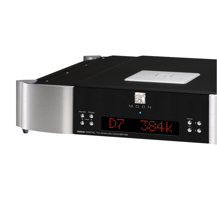 680D digital to analogue converter   amplifier audio analogique
