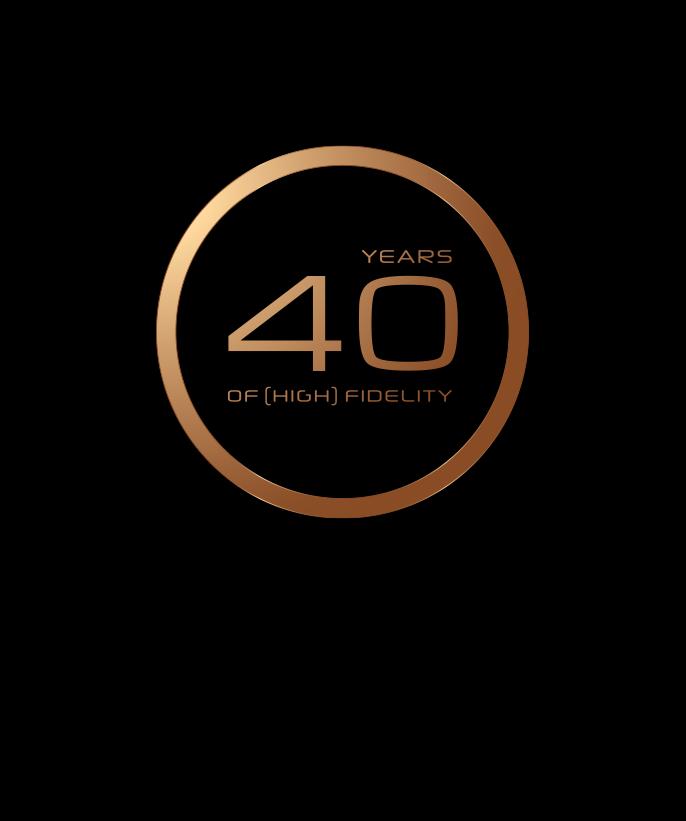 40 de fidélité sonore